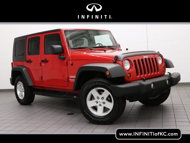 Pre Owned 2010 Jeep Wrangler Unlimited Sport