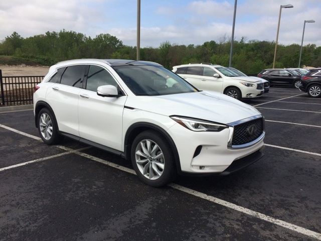 Infiniti Of Kansas City >> Pre Owned 2019 Infiniti Qx50 Essential 4d Sport Utility In