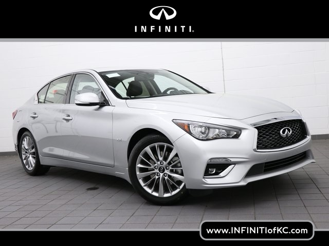 Infiniti Of Kansas City >> New 2019 Infiniti Q50 3 0t Luxe Awd