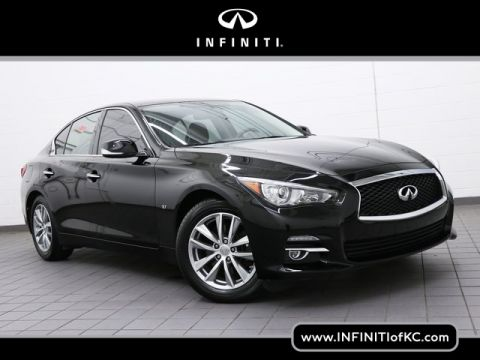 Certified Pre-Owned 2015 INFINITI Q50 AWD Premium