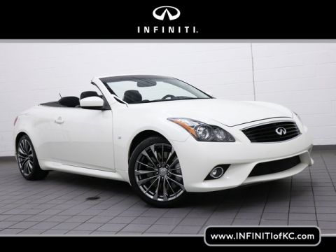 Certified Pre-Owned 2015 INFINITI Q60 Convertible Sport