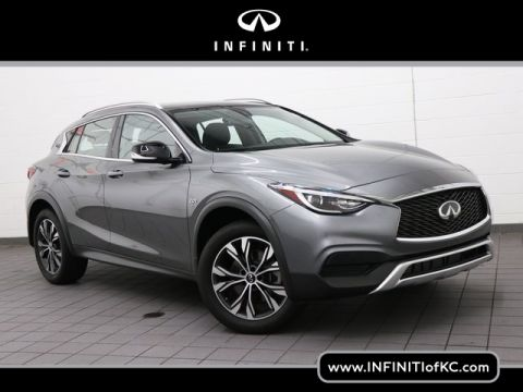 Certified Pre-Owned 2018 INFINITI QX30 LUXE